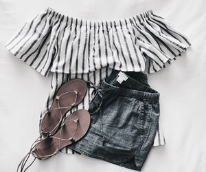 fashion, outfits, and shorts image