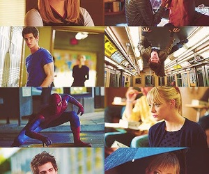andrew garfield, emma stone, and peter parker image
