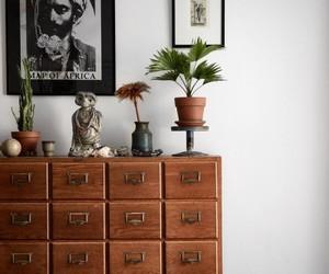 dresser and home decor image