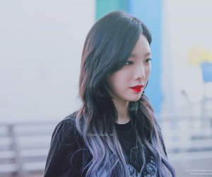 edit, taeyeon, and snsd image