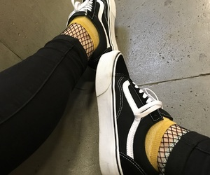 black, vans, and style image