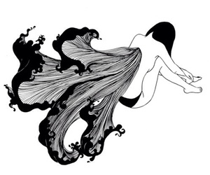 girl, henn kim, and illustration image
