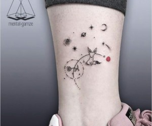 tattoo and stars image