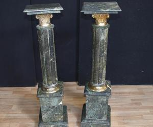 pedestal stand and column tables image