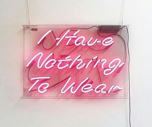 cloths, fashion, and nothing image