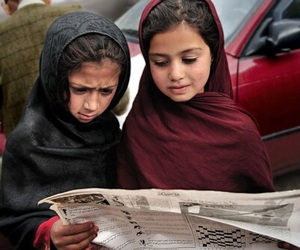 Afghanistan and children image