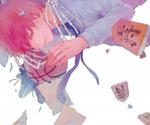 kuroko no basket, anime, and akashi seijuurou image