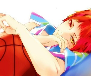 anime, boy, and kuroko no basket image