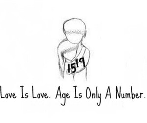 love, love is love, and age image