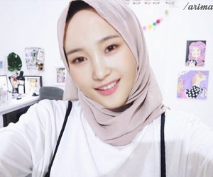 DIA, hijab, and indonesia image