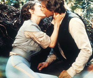 carrie fisher, iconic, and han solo image