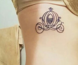 cinderella and tattoo image