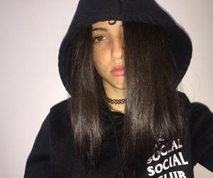 alone, bad, and dark image