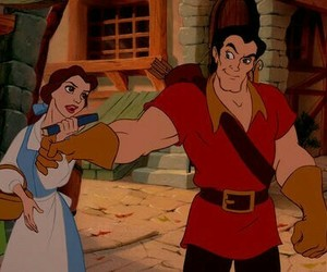 gaston, la belle, and the beauty and the beast image