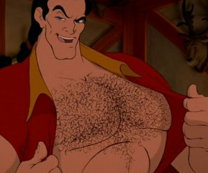 gaston, the beauty and the beast, and the beast image