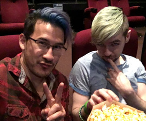 markiplier, jacksepticeye, and markimoo image