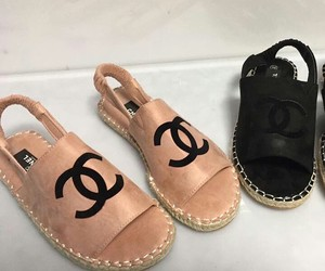 black, cc, and chanel image