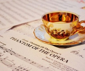 music and tea image