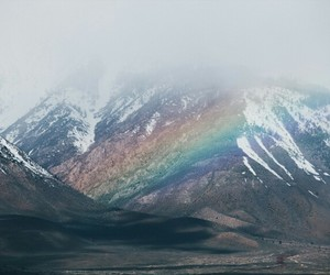rainbows, photo, and tumblr image