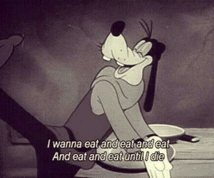disney, eat, and funny image