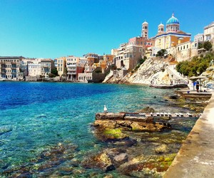 Greece, summer, and syros image