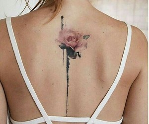 flower and tatoo image