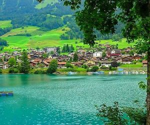 holidays, lake, and mountains image