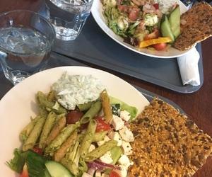 food, salad, and vegetarian image