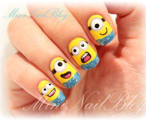 nails and despicable me image