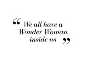 quotes and wonder woman image