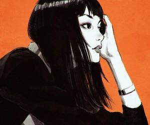 girl, art, and illustration image
