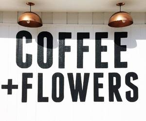 coffee, flowers, and tumblr image