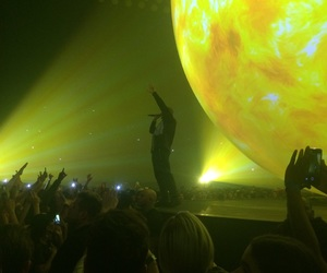 cell phones, Drake, and fans image