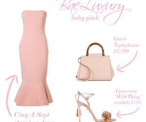 Polyvore and baeluxury image
