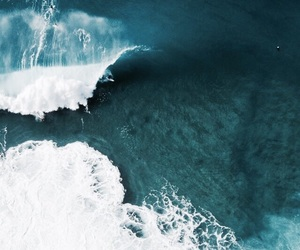 waves, ocean, and beach image