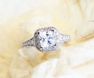 diamond ring, engaged, and engagement image