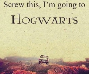 harry potter, hogwarts, and screw this image
