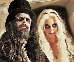 rob zombie, sheri moon zombie, and living dead girl image