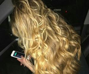 cabelo, ondulado, and loiro image