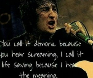 music, bands, and mitch lucker image