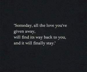 quotes, love, and stay image