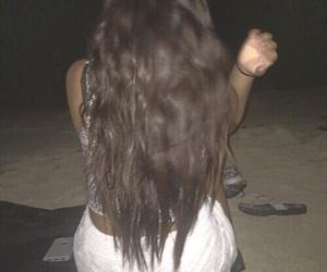 beach, grunge, and hair image