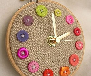clock and buttons image