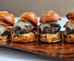 burger, cheese, and melt image