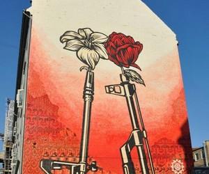 art, streetart, and graffiti image