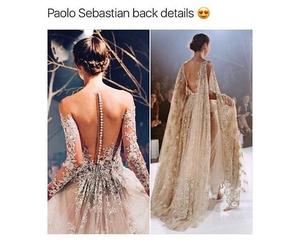 fashion, dress, and paolo sebastian image