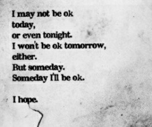 hope, quotes, and sad image