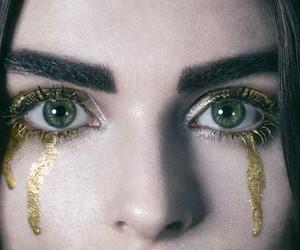 girl, eyes, and fantasy image