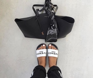style, bag, and shoes image