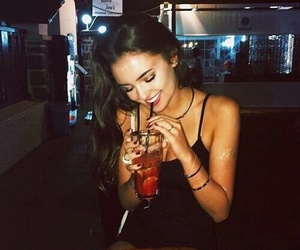 girl, drink, and tumblr image